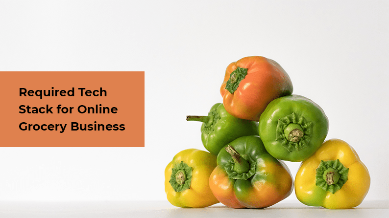 Technology Stack - eCommerce Grocery Marketplace Solution